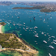 Start of the 2016 Rolex Sydney to Hobart yacht race<br /> 26/12/2016<br /> ph. Andrea Francolini