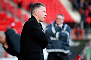 Peterborough Manager Darren Ferguson before the EFL Sky Bet League 1 match between Doncaster Rovers and Peterborough United at the Keepmoat Stadium, Doncaster, England on 9 February 2019.