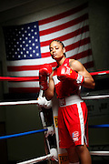 6/24/11 2:33:30 PM -- Colorado Springs, CO. -- A portrait of U.S. Olympic lightweight boxer Queen Underwood, 27, of Seattle, Wash. who will be competing for her fifth title. She began boxing in 2003 and was the 2009 Continental Champion and the 2010 USA Boxing National Champion. She is considered a likely favorite to medal at the 2012 Summer Olympics in London as women's boxing makes its debut as an Olympic sport. -- ...Photo by Marc Piscotty, Freelance.