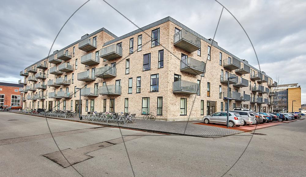 Pontoppidanparken, Karin Nellemosesvej 1,København, nybyggede lejligheder, eksteriør, murstensbyggeri, facader , Danica