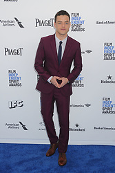 February 27, 2016 - Santa Monica, CA, United States - 27 February 2016 - Santa Monica, California - Rami Malek. 31st Annual Film Independent Spirit Awards - Arrivals held at the Santa Monica Pier. Photo Credit: Byron Purvis/AdMedia (Credit Image: © Byron Purvis/AdMedia via ZUMA Wire)