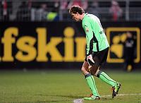 Fotball<br /> Tyskland<br /> Foto: Witters/Digitalsport<br /> NORWAY ONLY<br /> <br /> 13.12.2009<br /> <br /> Torwart Jens Lehmann VfB<br /> Bundesliga FSV Mainz 05 - VfB Stuttgart 1:1