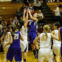 1-21-14 Berryville HS Girls BB vs Prairie Grove