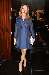 HEATHER KERZNER at the Launch Of Alain Ducasse's Rivea Restaurant At The Bulgari Hotel, 171 Knightsbridge, London on 8th May 2014.