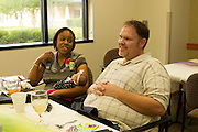 Tranisha and Doug Misenheimer discuss their NICU experience at Round Rock Medical Center Friday afternoon.