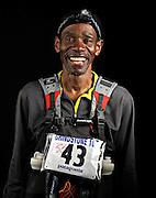 Portrait of ultra marathon runner Kent Gallup from Asheboro, NC, moments after completing the Grind Stone 100 Mile ultra marathon in Swoope, VA, Friday, Oct. 04, 2008...Davis  completed the race in 37 hours, 10 minutes and 11 seconds...The Grindstone is the hardest 100 mile race east of the 100th meridian. ...