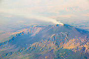 Aerial view of Mount Etna, Sicily, Italy