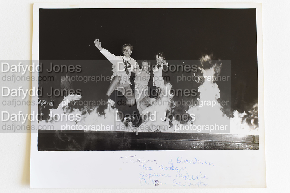 JEREMY BOARDMAN; JEZ BORDARRY; STEPHANIE BARWISE;  DICKON BEVINGTON, Burning Boat, Cambridge.