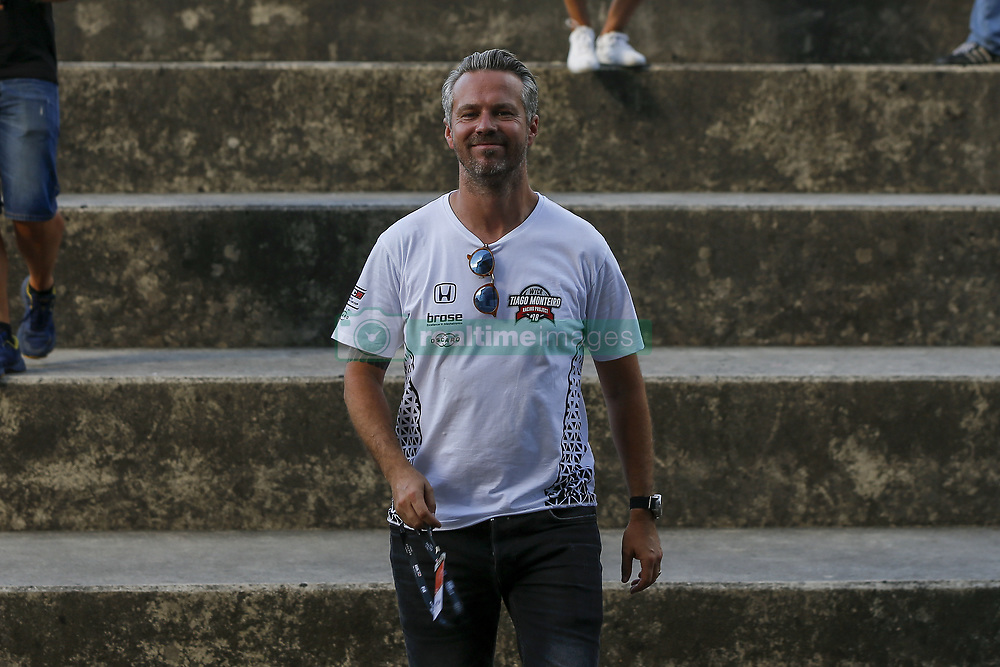 June 23, 2018 - Vila Real, Vila Real, Portugal - Tiago Monteiro from Portugal in Honda Civic Type R TCR of Boutsen Ginion Racing during the Race 1 of FIA WTCR 2018 World Touring Car Cup Race of Portugal, Vila Real, June 23, 2018. (Credit Image: © Dpi/NurPhoto via ZUMA Press)
