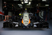 March 27-29, 2015: Malaysian Grand Prix - Force India nose detail