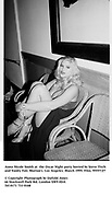 Anna Nicole Smith at  the Oscar Night party hosted by Steve Tisch and Vanity Fair. Morton's. Los Angeles. March 1995. Film. 95557/27<br />© Copyright Photograph by Dafydd Jones<br />66 Stockwell Park Rd. London SW9 0DA<br />Tel 0171 733 0108