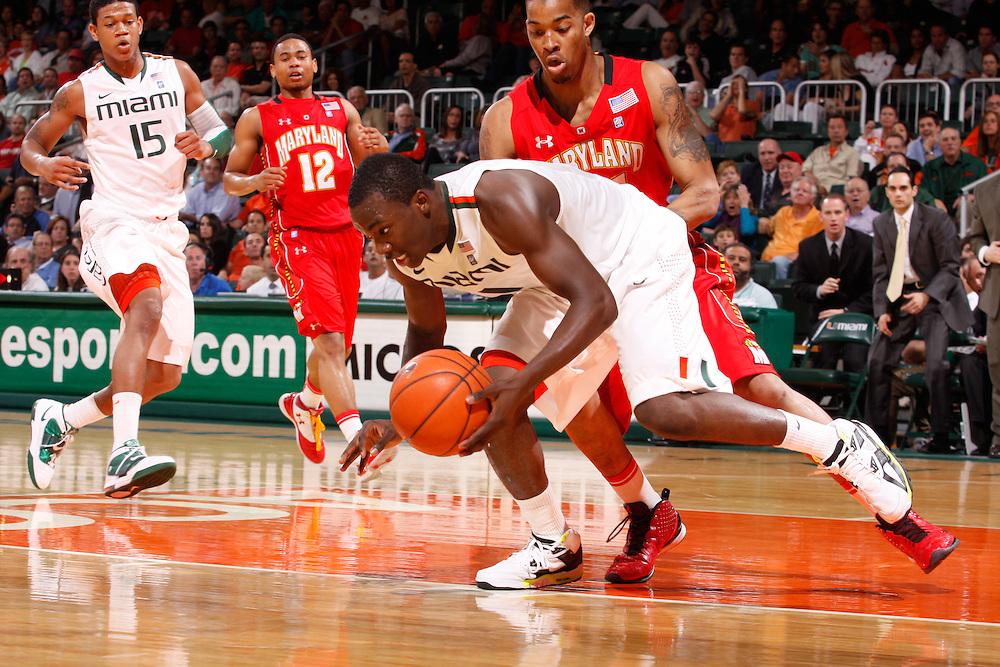 2011 Miami Hurricanes Men's Basketball vs Maryland
