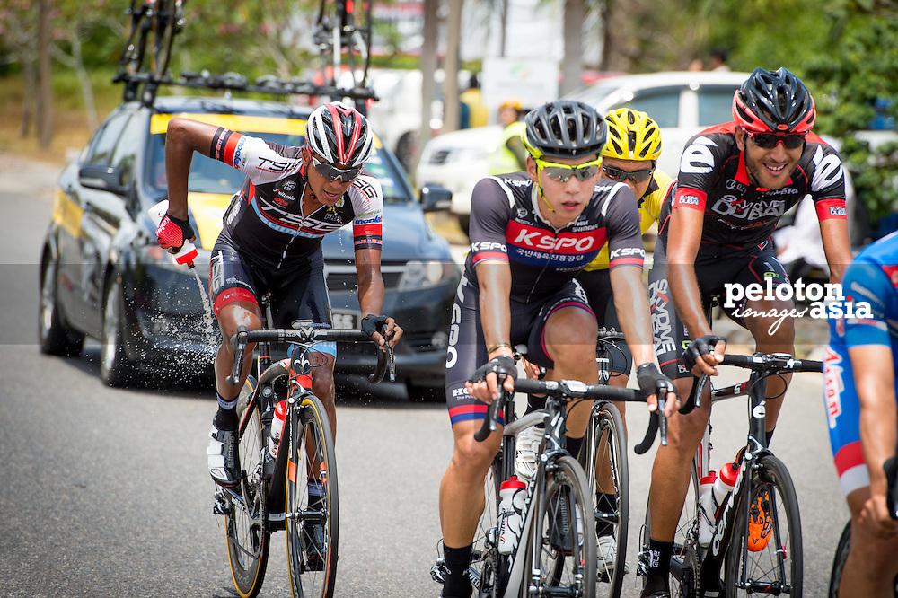 Le Tour de Langkawi 2015/ Stage5/ Kuala Terengganu -Kuanta/ Nakajima Yasuharu/ Aisan Racing / KSPO/ Seo,Joon Yong/ TSG/ Othman,M. Adiq Husaini