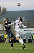 Peter MacDonald and Reece Donaldson - Raith Rovers v Dundee,  SPFL Championship at Starks Park<br /> <br />  - &copy; David Young - www.davidyoungphoto.co.uk - email: davidyoungphoto@gmail.com