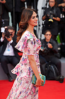Maria Grazia Cucinotta at the premiere of the film Suburbicon at the 74th Venice Film Festival, Sala Grande on Saturday 2 September 2017, Venice Lido, Italy.