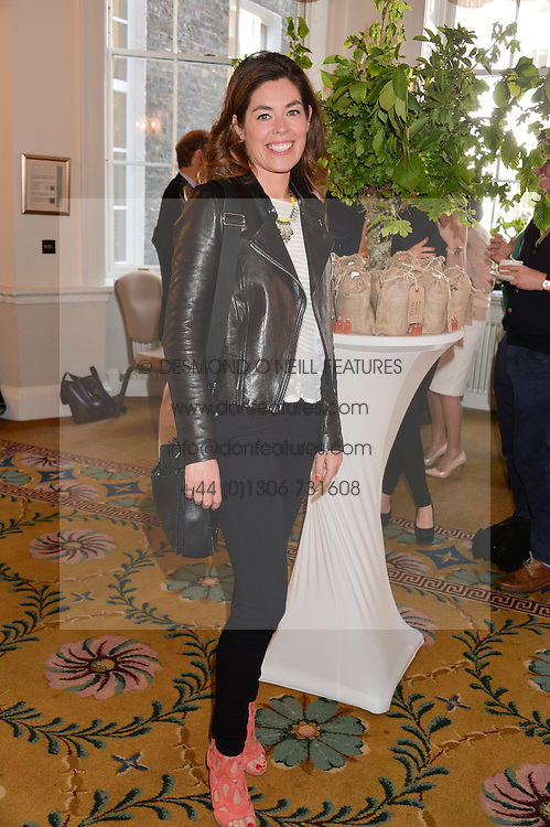 SOPHIE STANBURY at a breakfast hosted by Zita West and Leo Bamford to launch a range of vitamins for babies & children held at the Royal Society of Medicine, Chandos House, 2 Queen Anne Street, London on 21st May 2015.