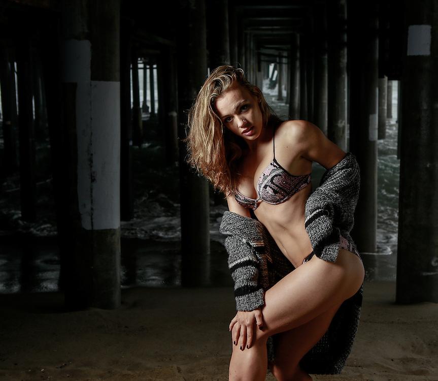 Beach Models, Bikinis, Fashion, Beaches, Santa Monica beach.