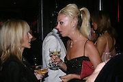 Princess Alexandra von Furstenburg and Tamara Beckwith. Andy & Patti Wong's Chinese New Year party to celebrate the year of the Rooster held at the Great Eastern Hotel, Liverpool Street, London.29th January 2005. The theme was a night of hedonism in 1920's Shanghai. . ONE TIME USE ONLY - DO NOT ARCHIVE  © Copyright Photograph by Dafydd Jones 66 Stockwell Park Rd. London SW9 0DA Tel 020 7733 0108 www.dafjones.com
