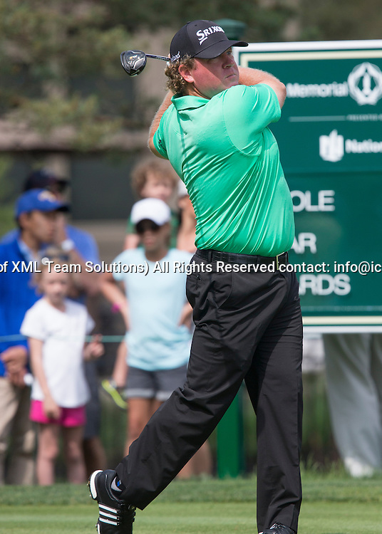 June 05 2016:  Dublin, OH, USA: William McGrit during the Final Round of the Memorial Tournament presented by Nationwide at the Muirfield Village Golf Club. (Photo by Jason Mowry/Icon Sportwire)