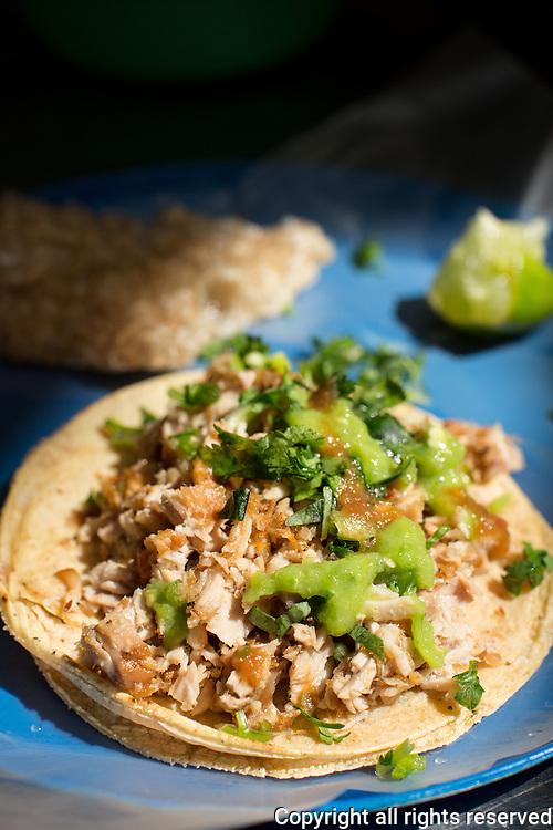 tacos carnitas, mexico city, mexico