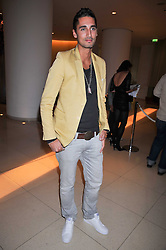Left HUGO TAYLOR at the St.Martins Lane Hotel 10th year bash held on 9th September 2009.