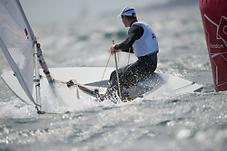 2012 Olympic Games London / Weymouth<br /> Racing day 1 Laser<br /> LaserAUSSlingsby Tom