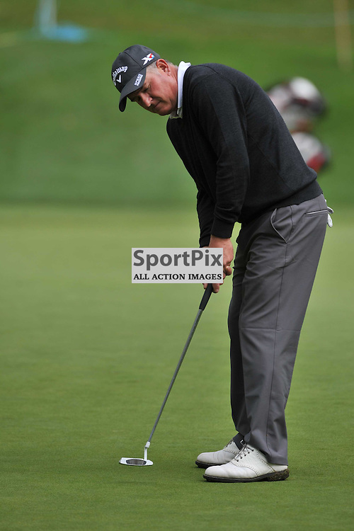 Peter Baker England, British Masters, European Tour, Woburn Golf Course Friday 9th October 2015.