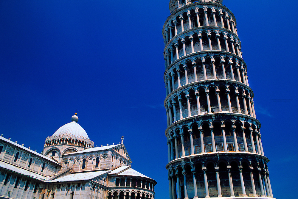 Cathedral and Leaning Tower, Piazza del Duomo, Pisa, Italy