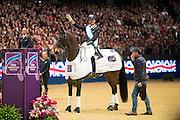Carl Hester - Nip Tuck<br /> Olympia Horse Show 2016<br /> © DigiShots
