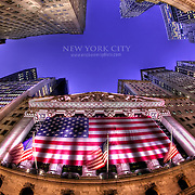 A fisheye view of the New York Stock Exchange, coincidentally timed not long after the 2008 financial meltdown started to take hold.