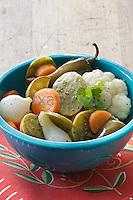 Verduras en escabeche, escabeche / escabeche vegetables