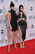 KENDALL + KYLIE JENNER @ the 2015 American Music Awards held @ the Micorsoft theatre.<br /> ©Exclusivepix Media