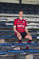 Dundee&rsquo;s Cammy Kerr models the club's away kit for season 2017-18 at Dens Park, Dundee, Photo by David Young<br /> <br /> <br />  - &copy; David Young - www.davidyoungphoto.co.uk - email: davidyoungphoto@gmail.com