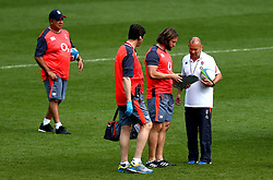 England head coach Eddie Jones of England leads training at Twickenham ahead of the upcoming tour of Argentina - Mandatory by-line: Robbie Stephenson/JMP - 02/06/2017 - RUGBY - Twickenham - London, England - England Rugby Training