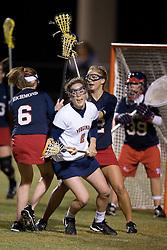 Virginia Cavaliers A Blair Weymouth (2)<br /> The Virginia Cavaliers Women's Lacrosse team defeated the Richmond Spiders 13-5 at Kl?ckner Stadium in Charlottesville, VA on February 28, 2007.