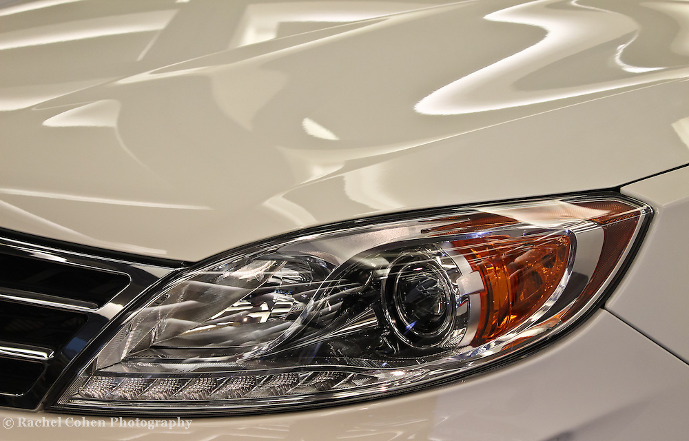 &quot;Inlight of Abstract&quot;<br /> <br /> A beautiful detailed headlight image and reflections on this car from The GAC Group!<br /> <br /> Cars and their Details by Rachel Cohen