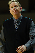 19 December 2009:  Indiana State Head Coach Kevin McKenna during the NCAA basketball game between Indiana State and the Toledo Rockets at Savage Arena in Toledo, OH.