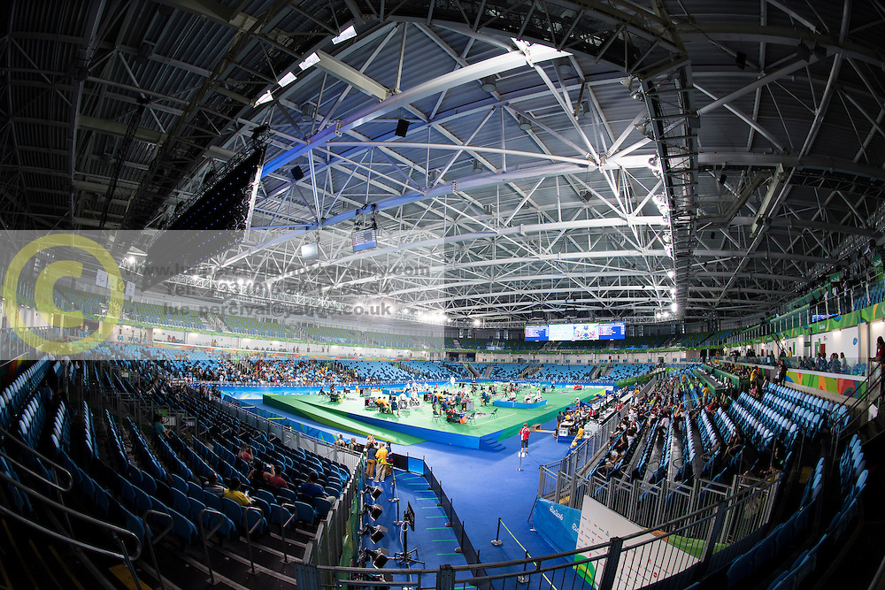 Les Coulisses, Behind the scenes, Wheelchair Fencing, Escrime at Rio 2016 Paralympic Games, Brazil