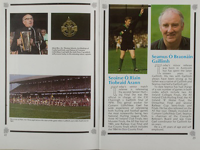 All Ireland Senior Hurling Championship Final,.Galway Vs Offaly,Offaly 2-11, Galway 1-12,.01.09.1985, 09.01.1985, 1st September 1985,.01091985AISHCF,...