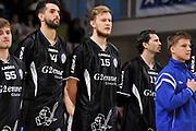 DESCRIZIONE : Campionato 2014/15 Serie A Beko Dinamo Banco di Sardegna Sassari - Upea Capo D'Orlando <br /> GIOCATORE : Sedin Karavdic<br /> CATEGORIA : Before Pregame<br /> SQUADRA : Upea Capo D'Orlando<br /> EVENTO : LegaBasket Serie A Beko 2014/2015 <br /> GARA : Dinamo Banco di Sardegna Sassari - Upea Capo D'Orlando <br /> DATA : 22/03/2015 <br /> SPORT : Pallacanestro <br /> AUTORE : Agenzia Ciamillo-Castoria/C.Atzori <br /> Galleria : LegaBasket Serie A Beko 2014/2015