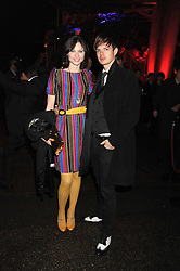 SOPHIE ELLIS-BEXTOR and RICHARD JAMES at the annual Serpentine Gallery Summer Party in Kensington Gardens, London on 9th September 2008.
