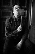 """François-Michel van der Rest par Sylvain Labeste Portraits d'acteurs et de techniciens sur le tournage de """"Nos Vies Formidables"""" de Fabienne Godet. Lumière naturelle. Janvier 2017."""