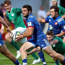 Lucas Tauzin of France U20  during the U20 World Championship match between France and Ireland on May 30, 2018 in Perpignan, France. (Photo by Manuel Blondeau/Icon Sport)