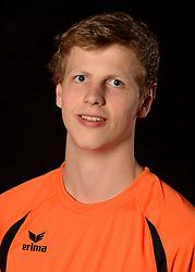 06-06-2013 VOLLEYBAL: NEDERLANDS JONG MANNEN VOLLEYBALTEAM: AMSTERDAM<br /> Selectie Oranje jong mannen seizoen 2013-2014 / Auke van de Kamp<br /> &copy;2013-FotoHoogendoorn.nl