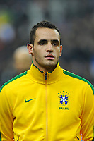 FOOTBALL - FRIENDLY GAME 2010/2011 - FRANCE v BRAZIL - 9/02/2011 - PHOTO JEAN MARIE HERVIO / DPPI - RENATO AUGUSTO (BRA)