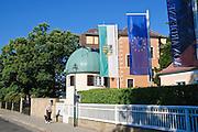 Der Turm, Sternwarte Manfred von Ardenne, Weißer Hirsch, Dresden, Sachsen, Deutschland.|.observatory Manfred von Ardenne, Weisser Hirsch, Dresden, Germany