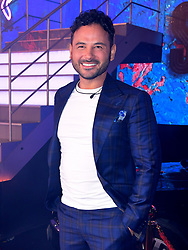 Ryan Thomas enters the house during the Celebrity Big Brother Launch Night at Elstree Studios, Hertfordshire.