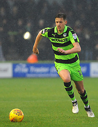 Jack Fitzwater of Forest Green Rovers runs with the ball -Mandatory by-line: Nizaam Jones/JMP - 18/11/2017 - FOOTBALL - New Lawn Stadium - Nailsworth, England - Forest Green Rovers v Crewe Alexandre-Sky Bet League Two