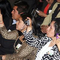 """Toluca, Mex.- Eruviel Avila Villegas, gobernador del Estado de Mexico entrego el reconocimiento """"Ser Maestros 2011"""" a profesores destacados, estuvo acompañado por Roberto Espiridion Sanchez Pompa, dirigente del SMSEM y Raymundo Martinez Carbajal, Secretario de Educacion. Agencia MVT / José Hernández. (DIGITAL)<br /> <br /> NO ARCHIVAR - NO ARCHIVE"""