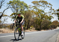 Grace Brown (AUS) on the final climb at Santos Women's Tour Down Under 2019 - Stage 2, a 116.7 km road race from Nuriootpa to Angaston, Australia on January 11, 2019. Photo by Sean Robinson/velofocus.com